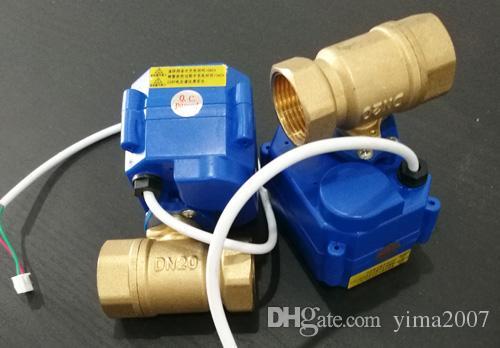 MOQ:CWX-15Q series actuator ,2 way brass ball valve,3/4'' DN20 BSP thread, DC12V, CR04 wire control
