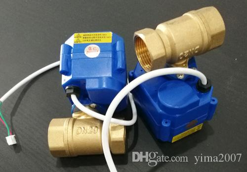 Wholesale price CWX-15Q series actuator ,2 way brass ball valve,3/4'' DN20 BSP thread, DC12V, CR04 wire control