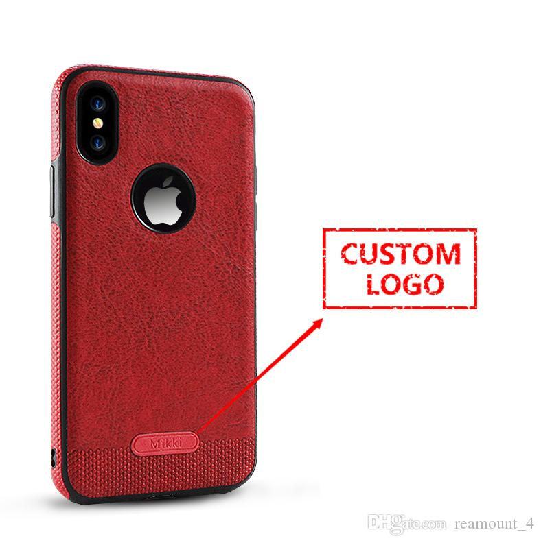 timeless design ddfcd 053e5 Wholesale DIY Design Colorful tpu Leather Phone Cover for iPhone 8  Protective Business Wind Phone Case Fundas