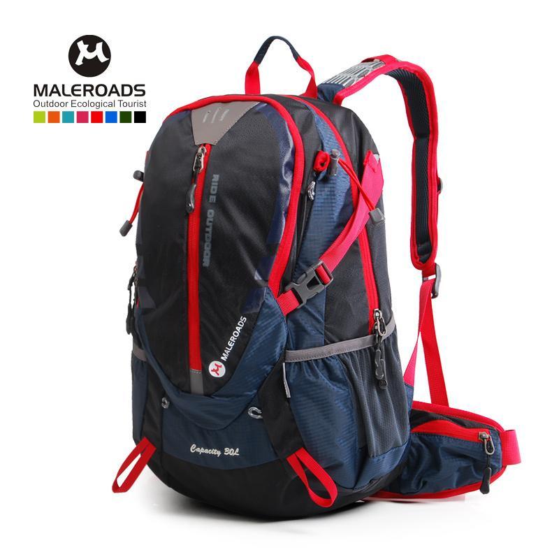 Ag Reusable Maleroads 30l Waterproof Bike Cycling Backpack Travel ...