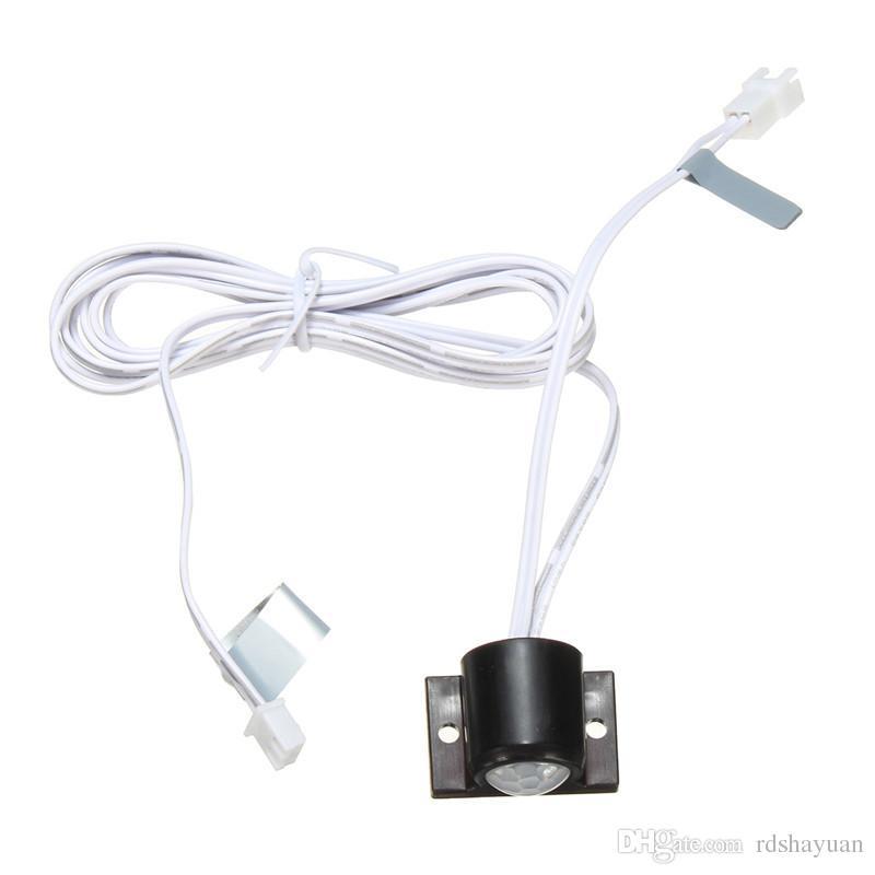 2A LED automatico On Off Strip Outdoor Infrarossi PIR Sensore di movimento del corpo Interruttore a parete interruttore 3-12 V 120 gradi entro 3 metri