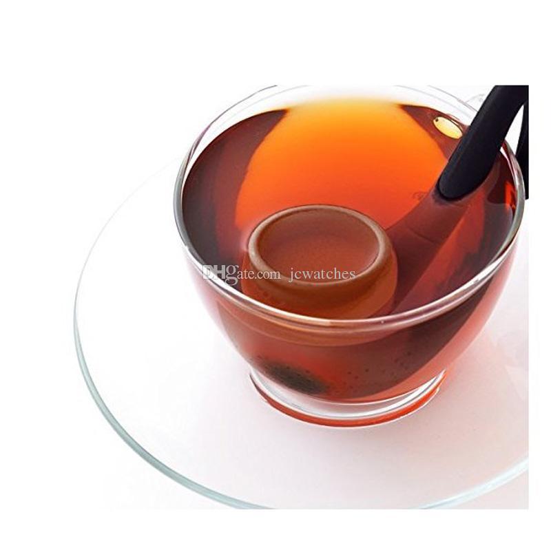 Filtro de Chá de Silicone Filtro de Chá Em Forma de Tubo de Chá Infusor de Chá de Café Drinkware Acessórios Ferramentas