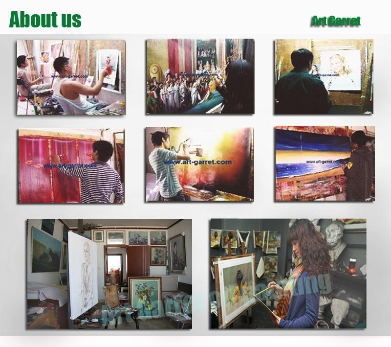 무료 배송 수제 붉은 초록 유화 캔버스에 현대 벽 아트 발레 두 댄서 홈 장식 들어