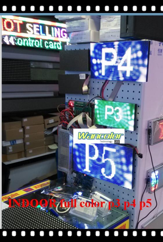 spedizione gratuita fai da te display a led 18 pz P5 Indoor Full Color Led Module 320 * 160mm + controller + alimentatore