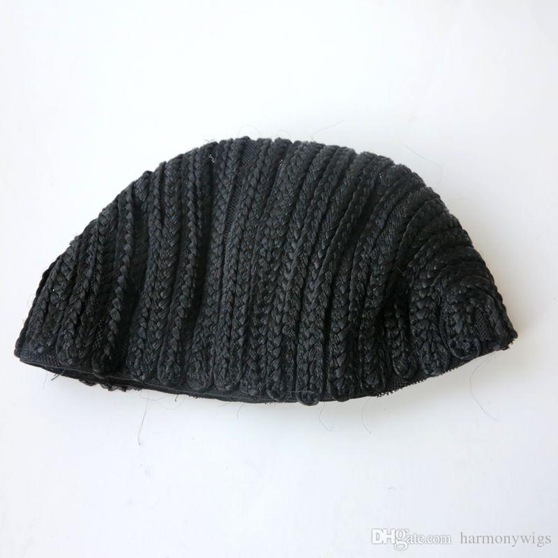 Braided Cap Crochet Wig Caps Hairnets for making wigs Finished braided pattern on cap threee size