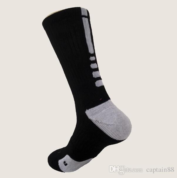 Brand New USA Professional Elite Basketball Socks Long Knee Athletic Sport Socks Men Fashion Compression Thermal Winter Socks