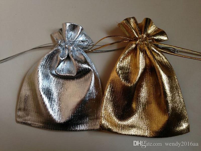 도매 silver 도금 거즈 쥬얼리 가방 7x9cm / 5x7cm / 9x12cm / 13x18cmjewelry 선물 주머니 가방 결혼식을위한 결혼식 호의