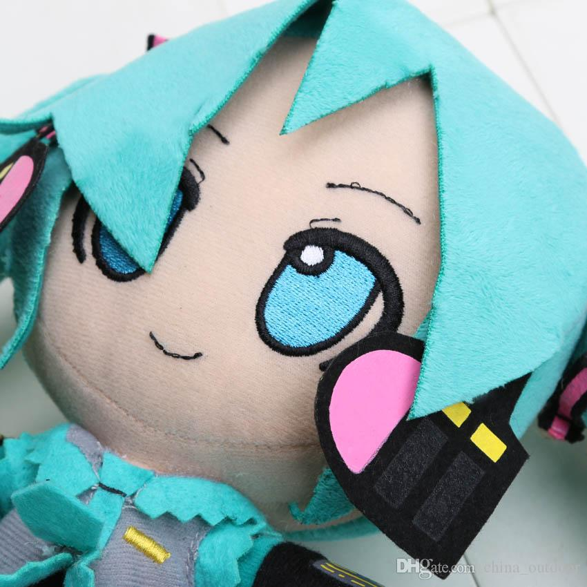 Japanese Anime Retail Hatsune Miku VOCALOID series 24CM snow Hatsune Miku Plush Toy Soft Stuffed Dolls
