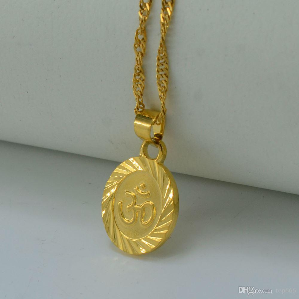 Ohm hindu buddhist aum om necklace pendant hinduism yoga india ohm hindu buddhist aum om necklace pendant hinduism yoga india outdoor sport18 24 chain 18k gold filled plated jewelry women pendants necklace silver aloadofball Image collections