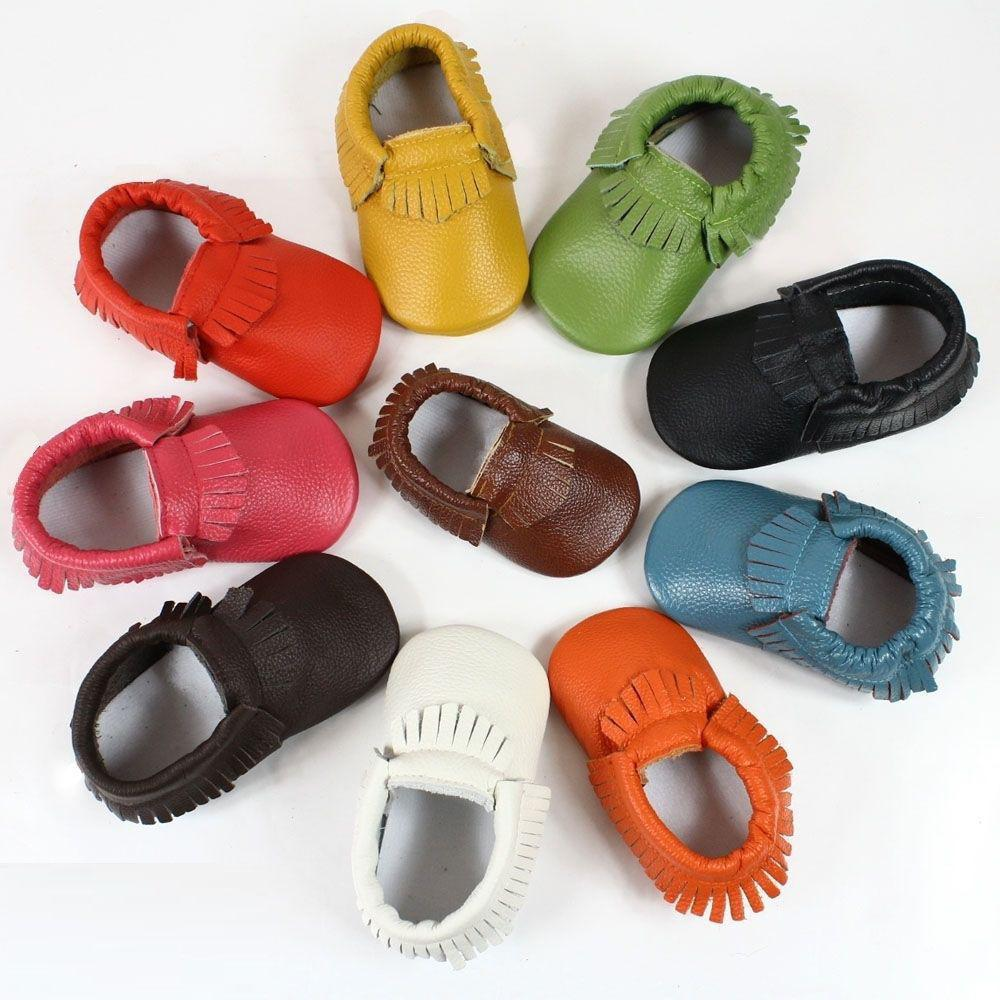 Scarpe Bambini bambino mocassini casual antiscivolo con Comfort Infant Nuovo scarpe di cuoio Crib bambino del bambino