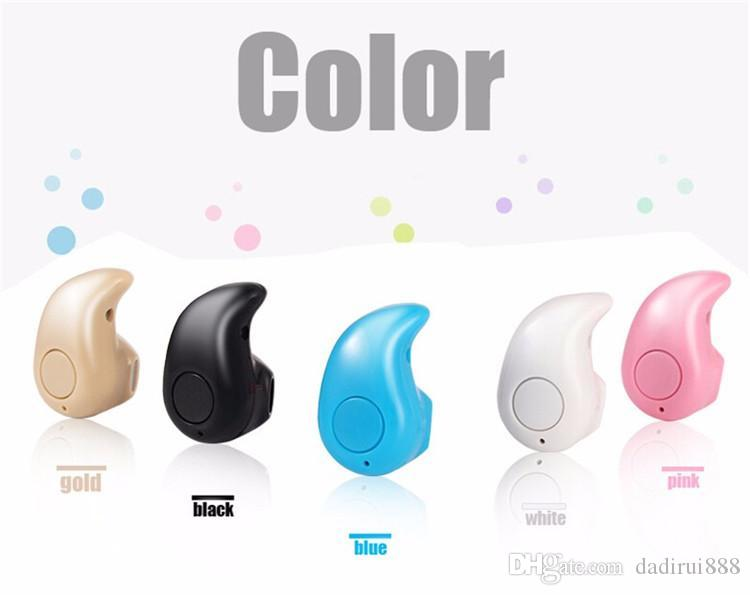 S530 Mini Wireless Bluetooth Earphone Stereo Light Stealth Headphone Sport Headset Earbud For iPhone 7 Android Cellphone with Retail Box