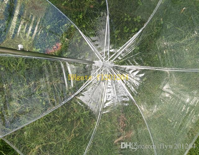 / liberano la cupola trasparente del parasole dell'ombrello della pioggia dell'ombrello della ragazza delle ragazze di trasporto favore della festa nuziale