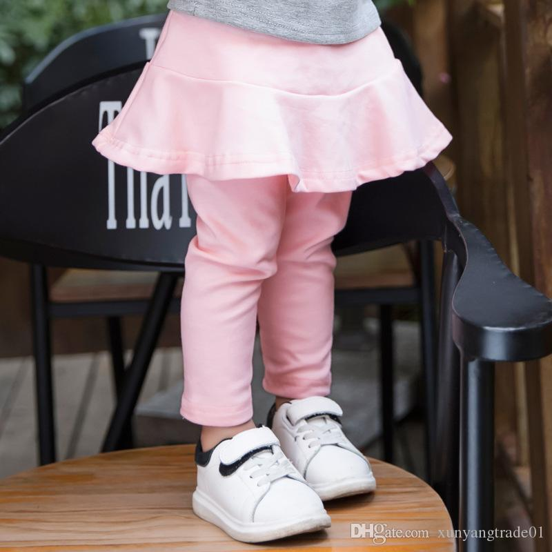 b56d0c36f INS Baby Clothes 2017 Autumn Girls Leggings Baby Pants Candy Color ...