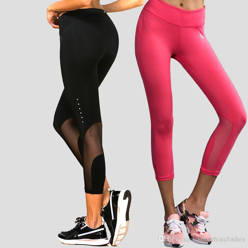2019 Womens Legging Yoga Pants Woman Compression Tights Sports Leggings  Running 3 4 Pants Jogging Trousers Mallas Mujer Deportivas From  Superhotclothes, ... cbf63df97651