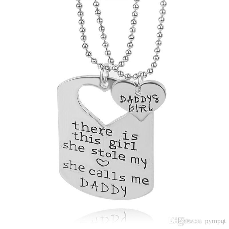 Cut cutting heart necklace from in middle of rectangle card pendant cut cutting heart necklace from in middle of rectangle card pendant lettering mommy daddy and girl two person 2in1 necklace x282 rectangle pendant necklace aloadofball Image collections