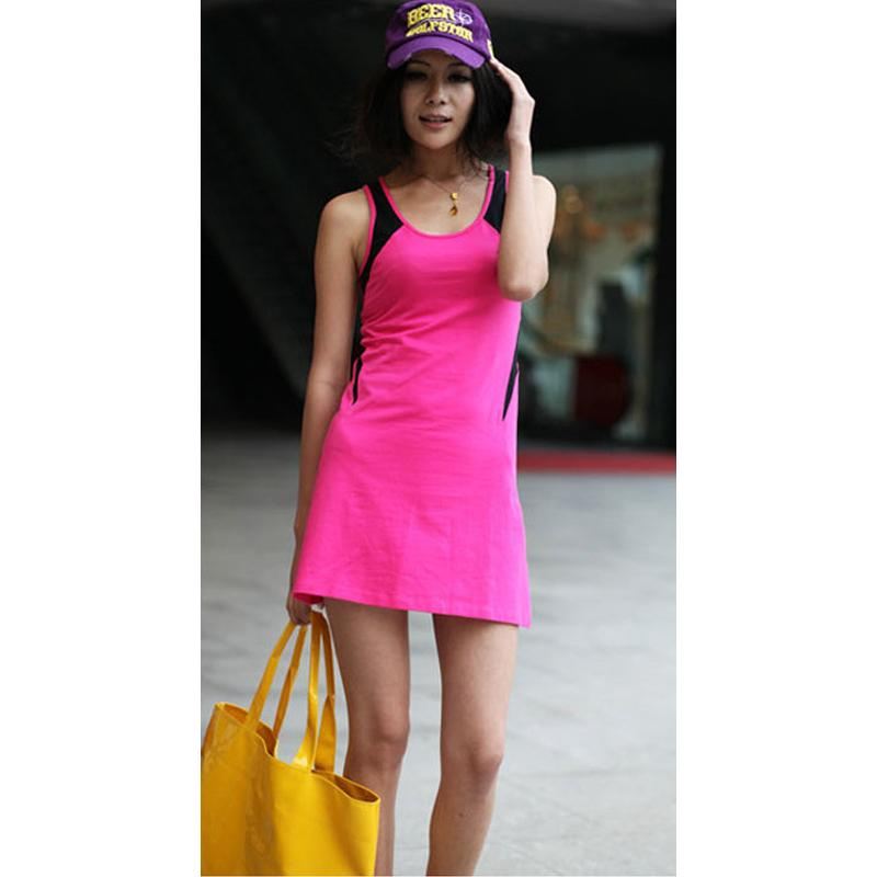 Wholesale- Clearance Sale Sexy Women Sportswear Sports Tennis Outfit Tennis Dress Women's Dress Tennis And Cheerleader Costume Singlet