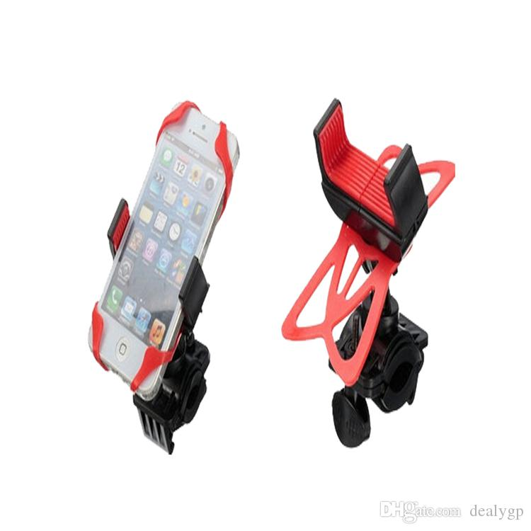 best service 0b3fd e5377 Mobile Phone Accessories Silicone Bicycle Cell Phone Holder Bike Handlebar  Mount for Samsung Galaxy s8 s7 edge s6
