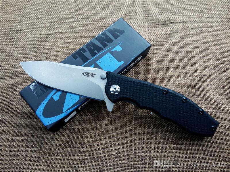 Zero Tolerance ZT0562 전술 폴딩 나이프 캠핑 사냥 칼 야외 생존 도구 G10 핸들 ELMAX 블레이드 포켓 EDC 나이프