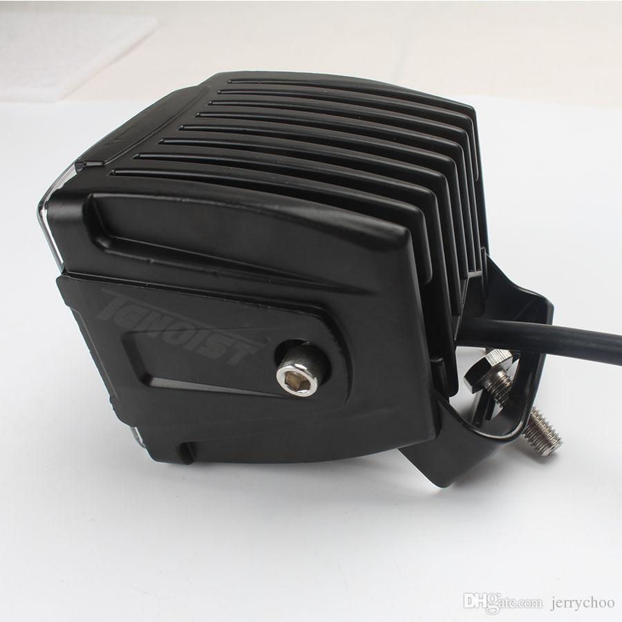 Alta calidad 3.5 pulgadas 4D lente 30W techo parachoques A-Pilar luz para Wrangler F150 coche SUV Offroad camión ATV motocicleta faro 12V 24V