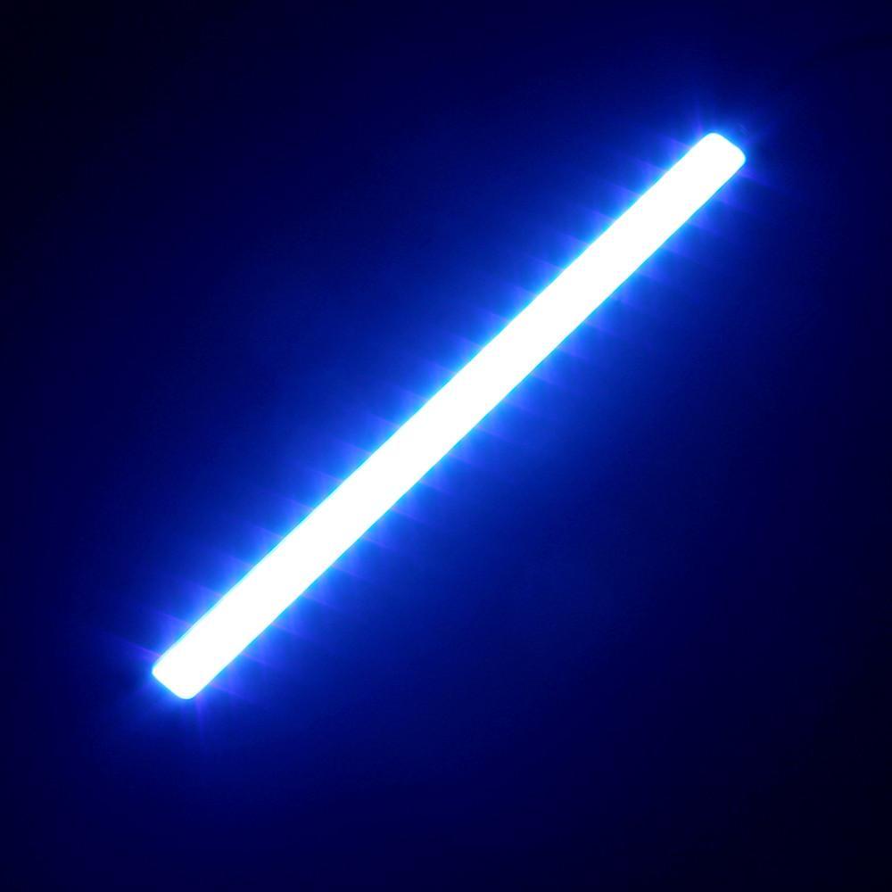2 adet / grup 17 CM LED COB DRL Gündüz Koşu Işık Su Geçirmez DC12V Harici Led Araba Styling Araba Işık Kaynağı Park Sis Bar Lambası