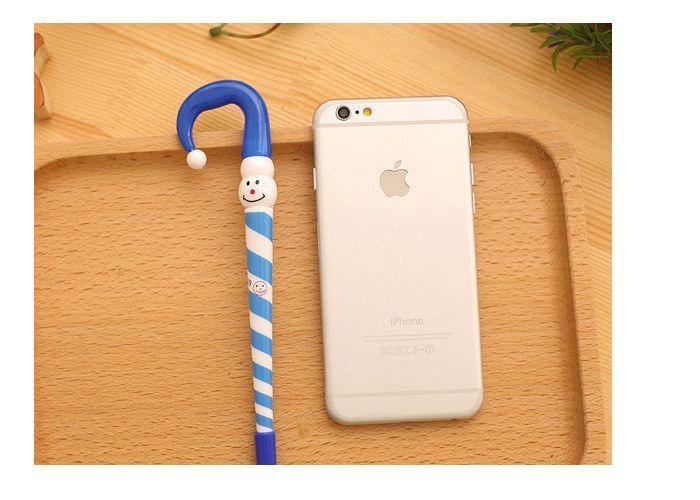 Hot Sale Christmas Snowman Ballpoint Pen Umbrella Cute Cartoon Advertisement Pen Student Award Xmas Gift Stationery