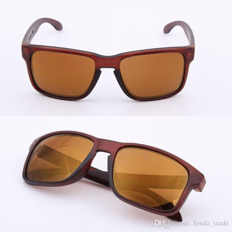 Meilleur logo de la marque de vente chaude Non polarisé UV400 Sunglasses Hommes Femmes Sport Vélo Lunettes Lunettes de lunettes lunettes lunettes de lunettes 18 couleurs Options