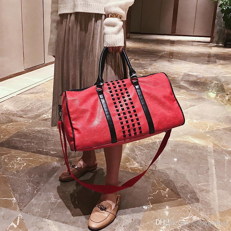 Известный бренд спортивная сумка Роскошные чемоданы дизайнер путешествия вещевой упаковка вещевой сумка кошелек большой емкости