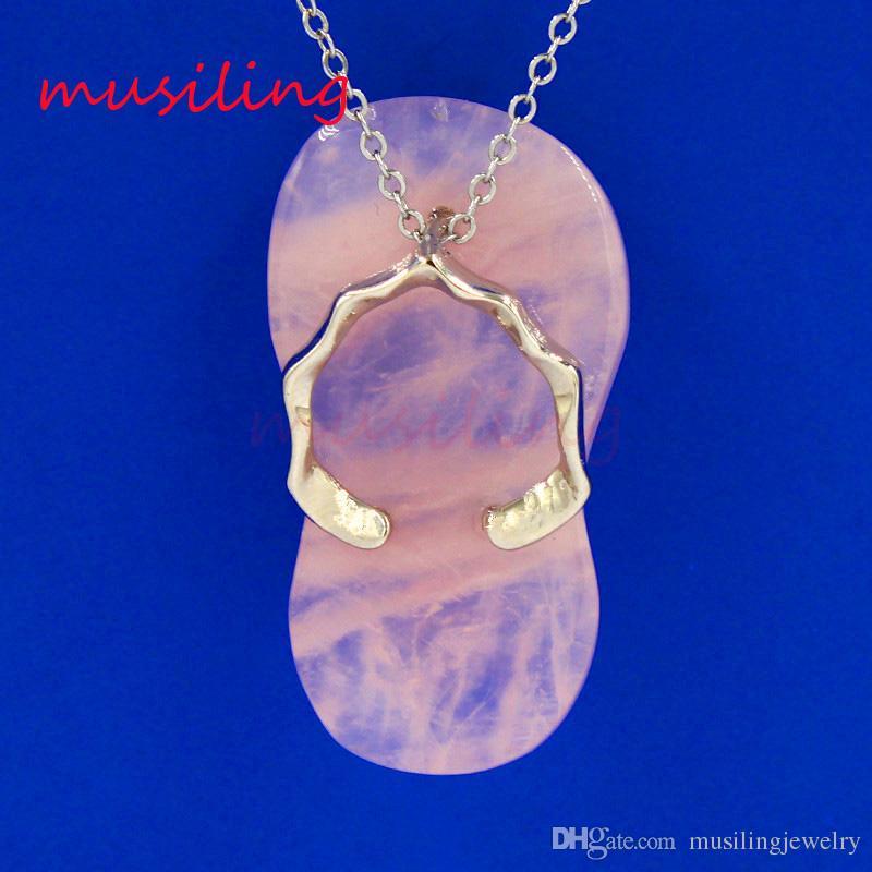 Ciondolo in pietra naturale ciondolo in argento placcato ametista quarzo rosa ecc. Mascot Reiki Charms Accessori Amuleto Moda ordine Mix di gioielli