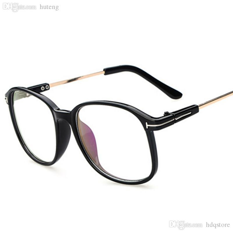 a13f189296 Wholesale-vintage Large Frame Eyeglasses Men Women Brand Designer ...