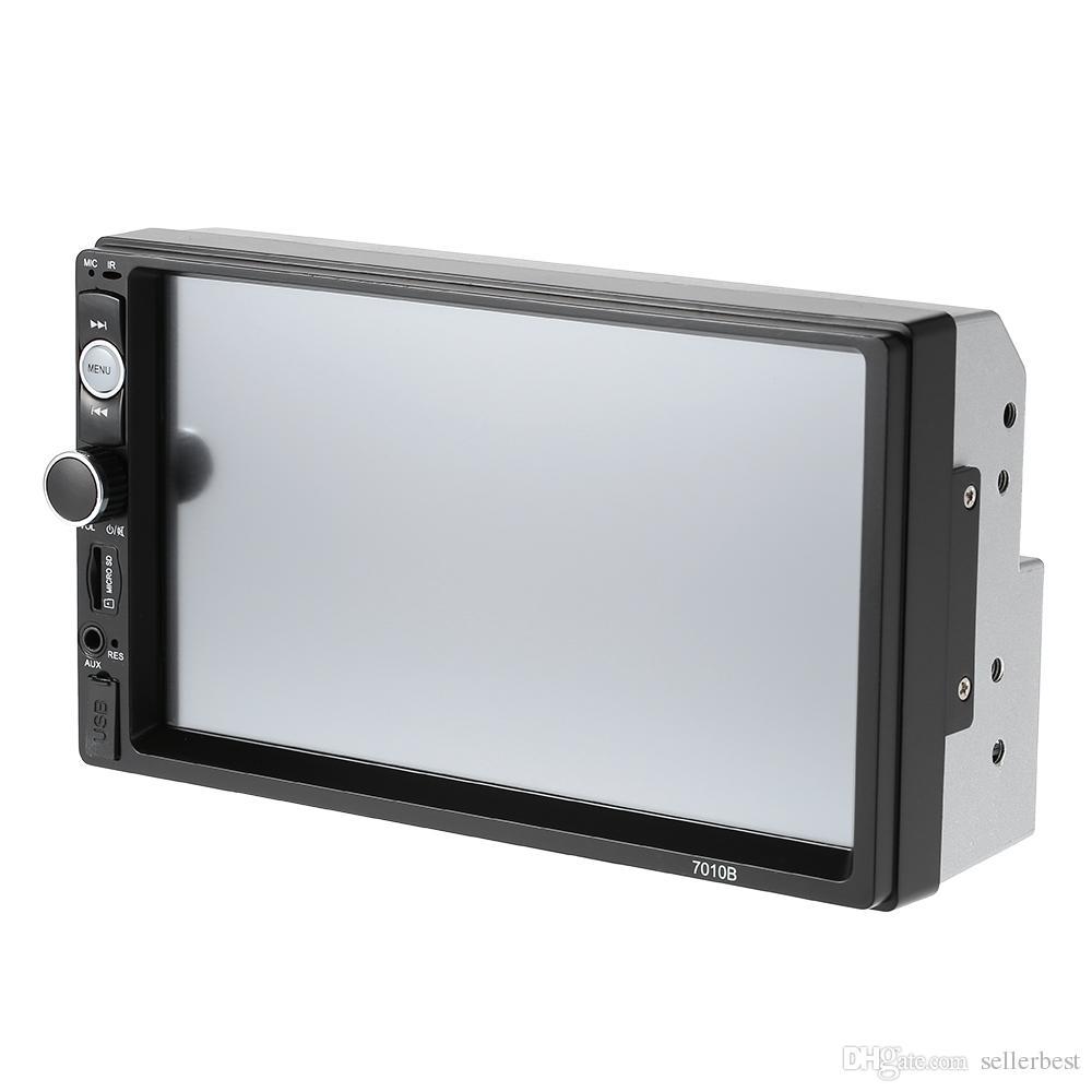 7 بوصة العالمي 2 الدين HD بلوتوث سيارة autoradio MP5 لاعب الوسائط المتعددة راديو الترفيه USB / TF FM Aux إدخال سيارة دي في دي