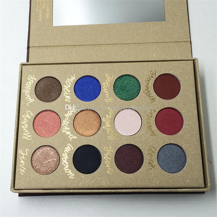 Makeup Brands Highlighter Eyeshadow Palettes Nake Makeup Matte ...