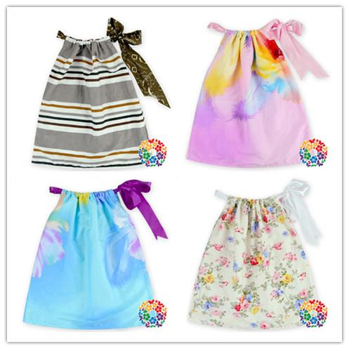 e5d02df0dde 06)24CS lot)free shipping 2016 Summer New Fashion Girl Party Wear Western  Dress Cotton Umbrella Dress Baby Girls Party Wear Dress