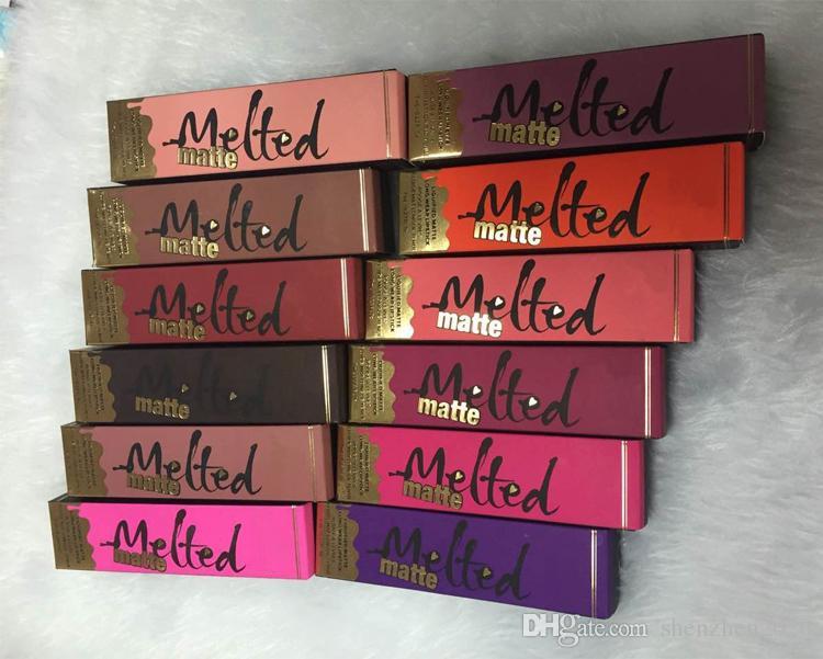 Melted Makeup Melted Lip Gloss Sexy Make Up Melted Matte Licuado Long-Wear Matte Lipsticks en stock envío gratis