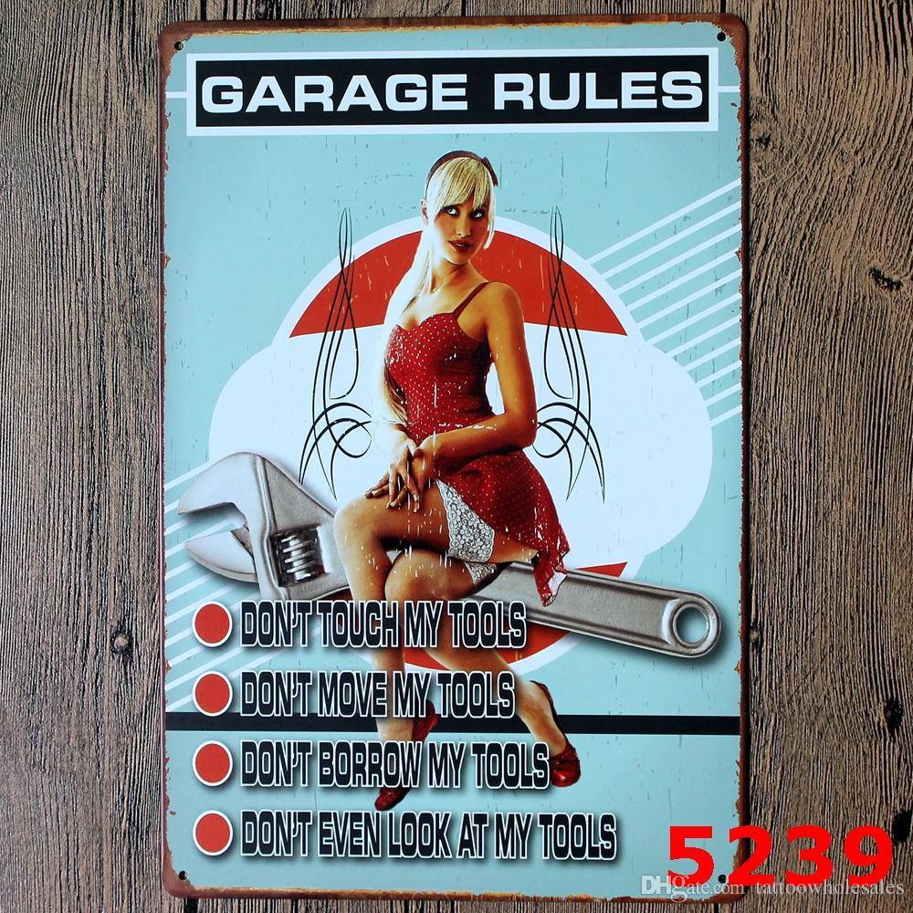 2017 My Garage My Rules Full Service Retro Coffee Shop Bar