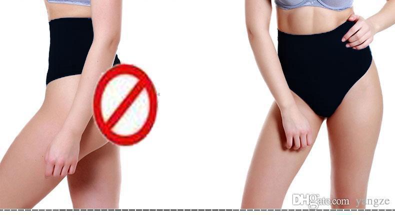 Hot Nyaste Kvinnors Midja Trainers Training Cinchers T-Back Panties Seamless High Waist Underkläder Tummy Control Corset Shaper SS1001