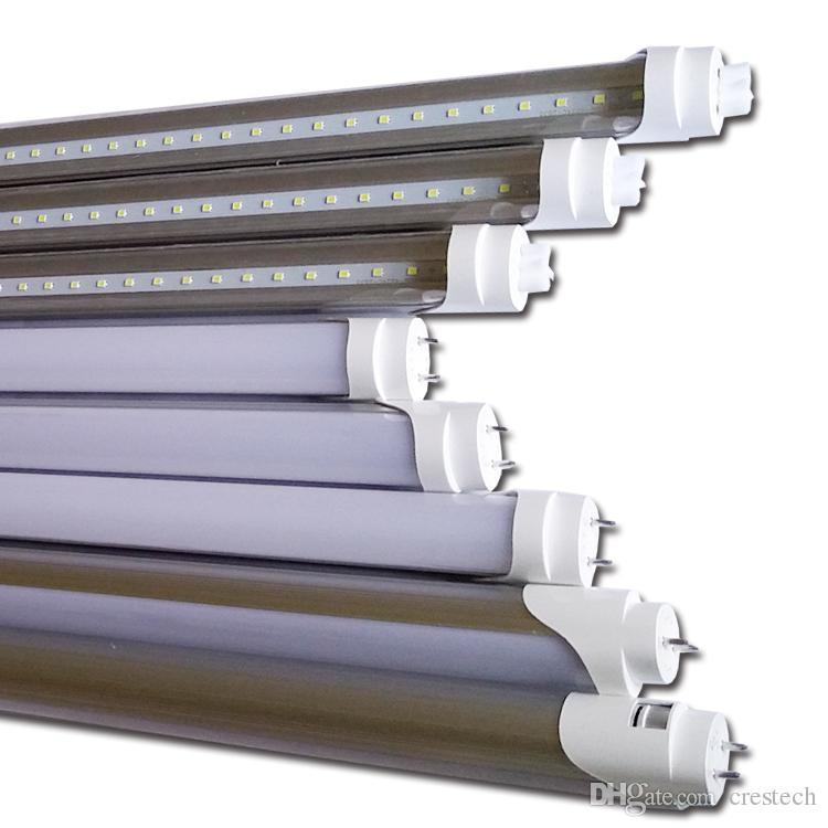 Kızılötesi pir motion sensörü t8 led tüpler mikrodalga radar led tüpler t8 led 4 feet tüp fixturre otopark ışıkları için kullanmak