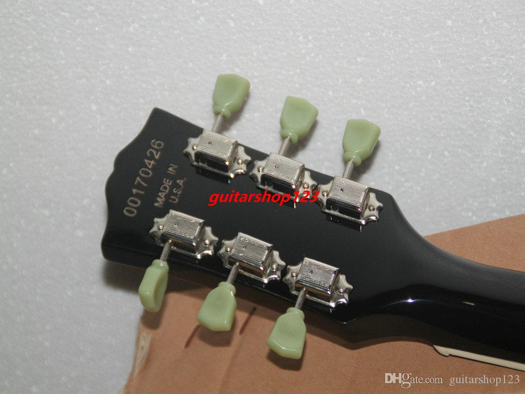 Yüksek Kalite Yeni Şarap Kırmızı Standart Elektro Gitar Toptan Gitar Ücretsiz Kargo