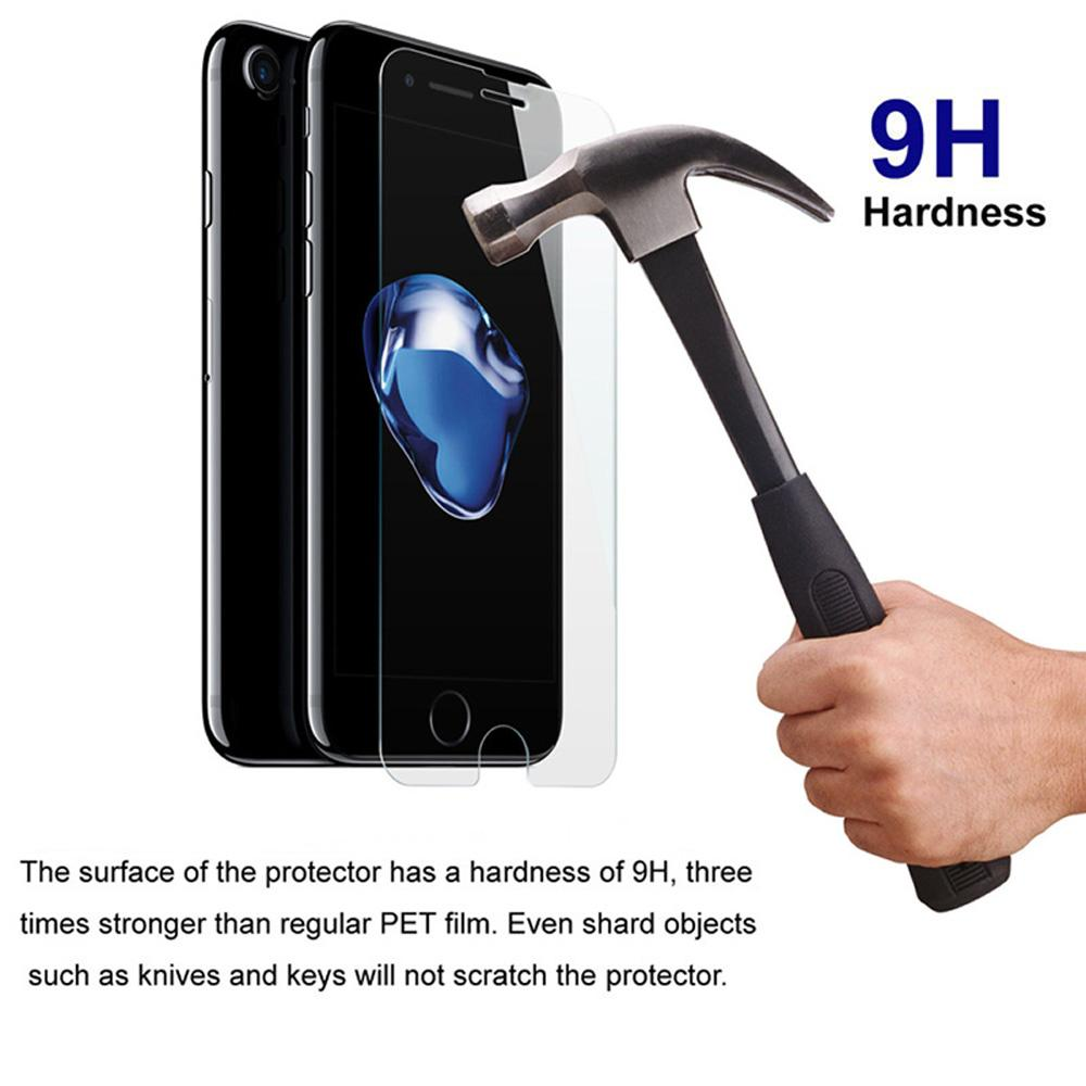 Wholesale Premium Screen Protector Film Tempered Glass For Apple iPhone X 8 7 6 6S Plus 5S SE