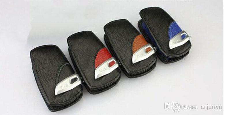 leather car key case For bmw x1 x3 x4 x5 x6 116i 118i 320i 316i 325i 330i E90 F10 M1 M3 M5 F20 F30 530i