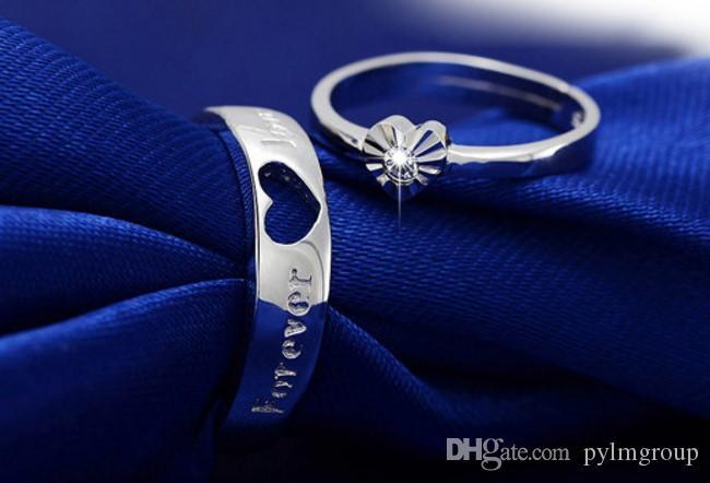 collana all'ingrosso Anello solitario coppia S925 fidanzamento anniversario CA signora nuovo arriva IT donne rom Dimond Paris EUR degli Stati Uniti