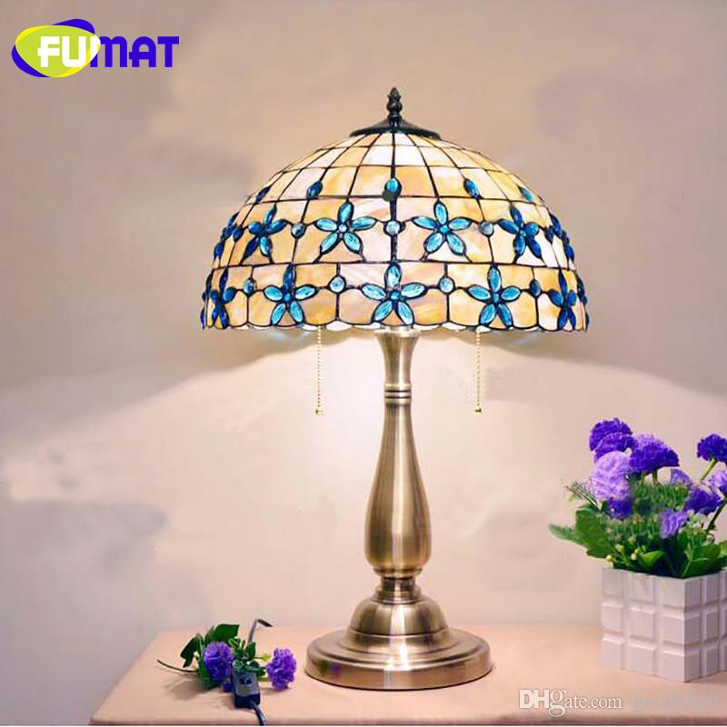 2018 fumat 121416 inch lilac shell table lamp mediterranean blue 2018 fumat 121416 inch lilac shell table lamp mediterranean blue beads decoration desk lamp european bedroom table lamp from goods520 17588 dhgate aloadofball Gallery
