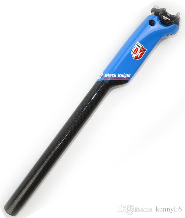 Schwarzer Ritter-Straßen-Fahrrad-Sattelstütze 3K Carbon-Faser-Fahrrad-Aero-Sattelstütze 27.2 30.8 31.6mm rot weiß blau gelb Radfahren Teile