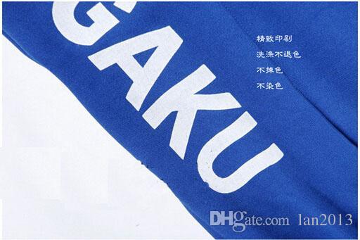 Ücretsiz Kargo! Tenis Prensi Anime COSPLAY Giyim Cos Takım Okul Giysileri Sonbahar Elbise Yeşil Nokta