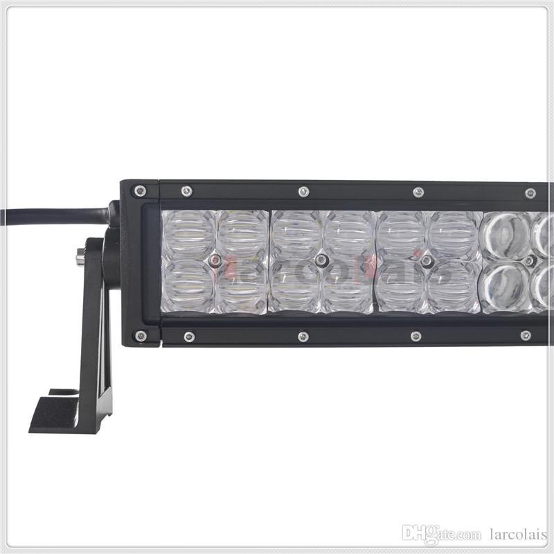 42 дюйма 400 Вт 5D изогнутые CREE светодиодные работы свет бар для Трактор лодка OffRoad 4WD 4x4 грузовик внедорожник ATV пятно наводнения комбо Луч 12 в 24 в