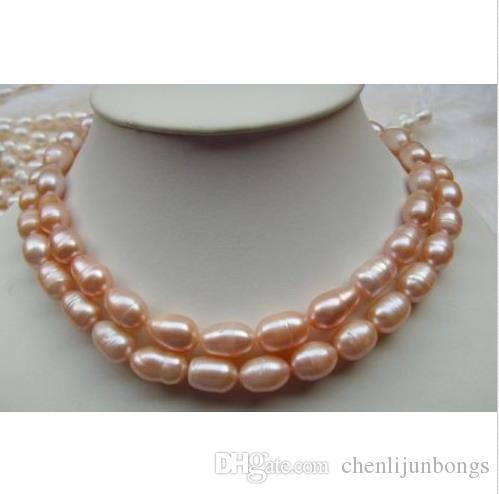 2016 NEW HOT elegant 11-13mm natural south sea pink pearl necklace 35 inch 14K