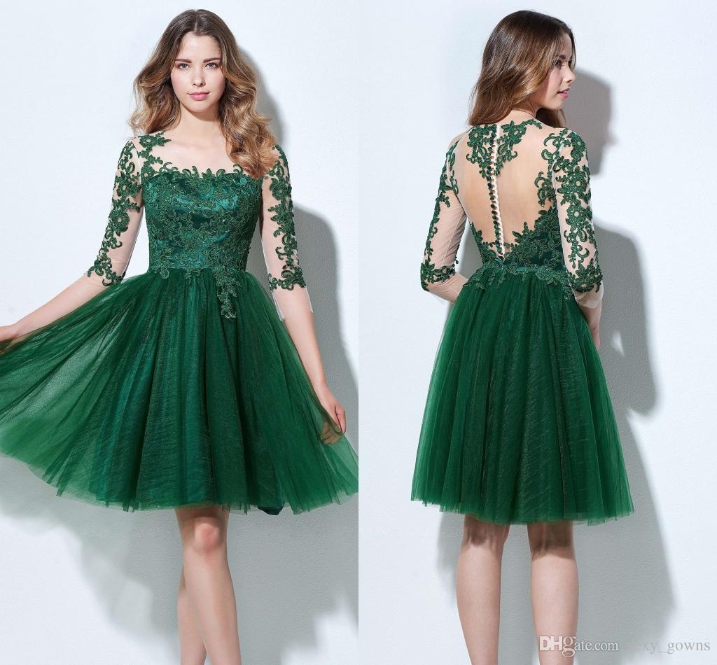 3 4 length cocktail dresses images