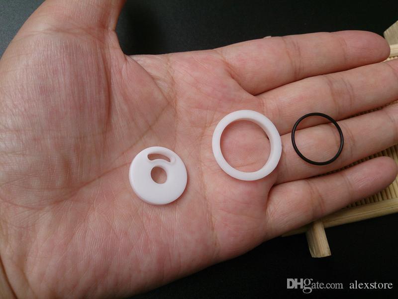 Silicone O ring Colorful Silicon Seal O-rings replacement Orings Set for Smok Smoktech TFV4 Sub Ohm Tank Rba Rta Atomizer