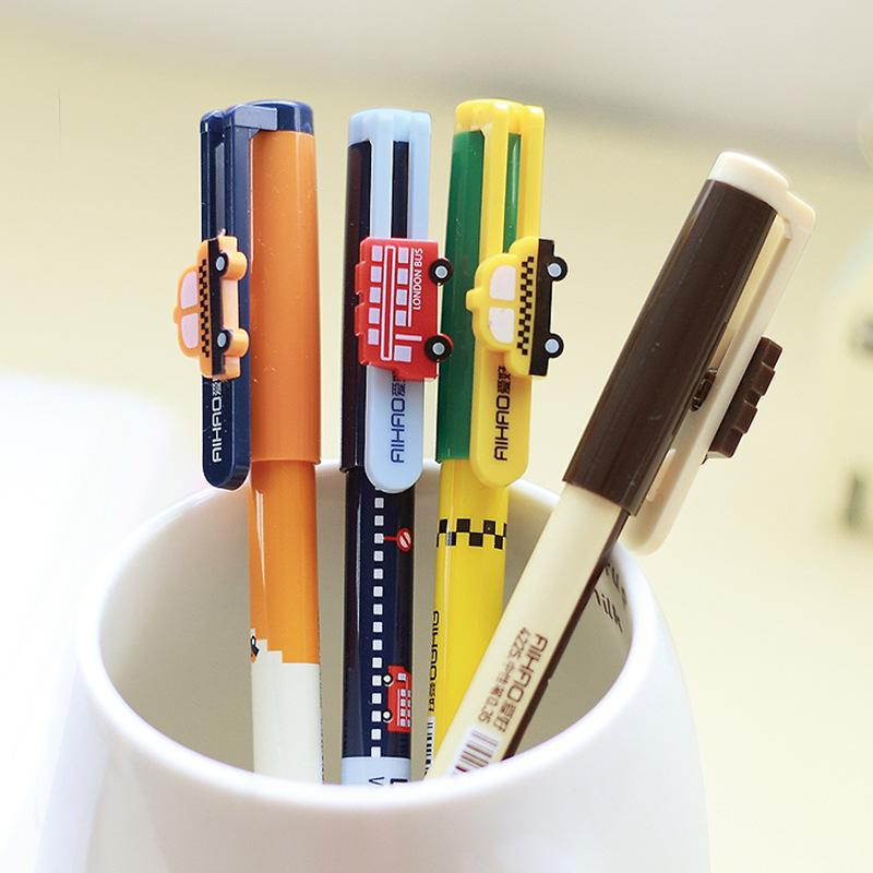 2018 Wholesale Vintage City Bus Gel Pen New York Taxi London Street  Stationery Office Accessories School Supplies Papelaria F104 From Stylenew,  ...