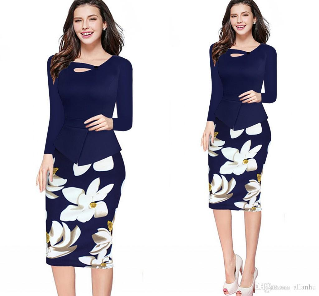 Casual dress clothes for plus size women