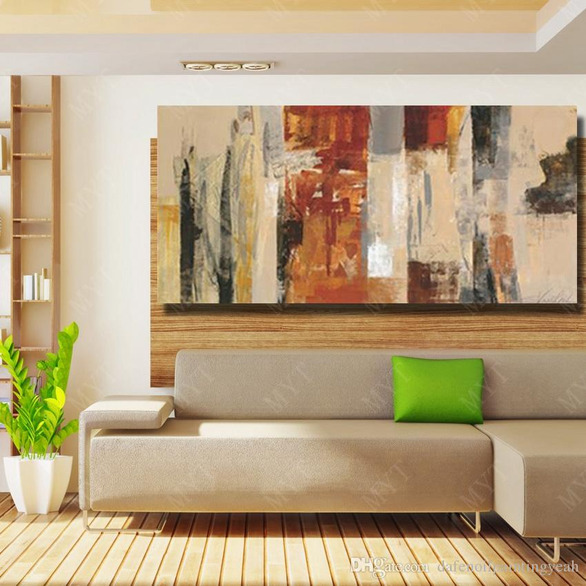 Chinese Wall Art Abstract Oil Painting on Canvas for Living Room Decor Hand Painted Beautiful Oil Painting No Framed